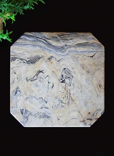 Picasso Dörtgen Sunum Tabağı-Marble&Etc.